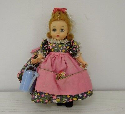 Vintage Madame Alexander Doll Alex Alexanderkins Bent Knee Sleep Eyes 8""