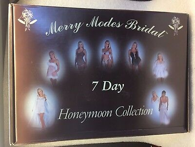 honeymoon  collection 7 day honeymoon  collection Wedding  lingerie SMALL