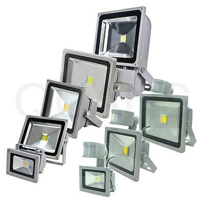 10W 20W 30W 50W 100W LED Flood Light Lamp Outdoor Security PIR Motion Sensor CN