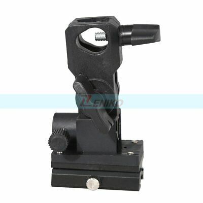 B Type Flash Bracket Umbrella Holder Swivel Light Stand For Speed Flash