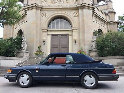 Saab: 900 Turbo 1993 SAAB 900 Turbo Cabriolet - only 103,000 miles, automatic. Solid shape