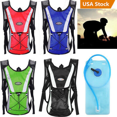Sporting Backpack 2L Water Bladder Bag Hydration Packs Camelbak Hiking Camping Y
