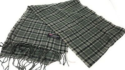 Men Women Winter Warm 100% CASHMERE Scarf Check Plaid Wool SCOTLAND High quality