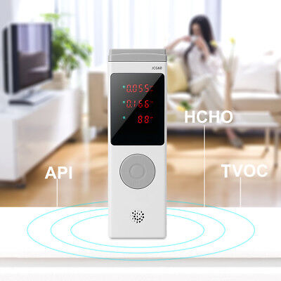 Portable Multifunctional Air Quality Pollution Monitor Formaldehyde Detector