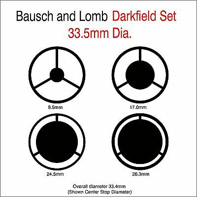Bausch and Lomb Microscope Darkfield Set