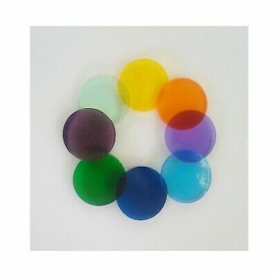 Microscope Colored Filter Set 32mm Diameter (0002)