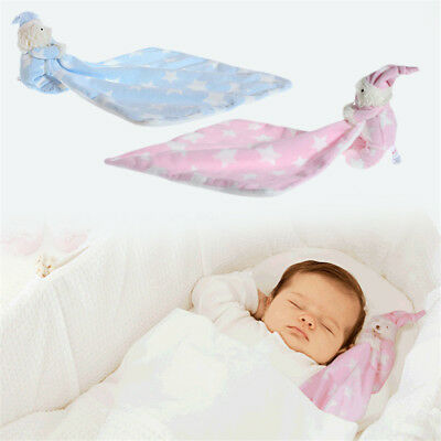 Soft Plush Bear Shape Toys Sleeping Blanket Wrap Towel For Newborn Infant Baby