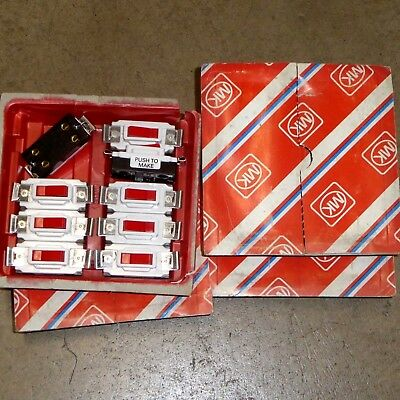 39 x 20 Amp Push To Make Switch 20A Grid Module MK 4910 RED Old Model Joblot New