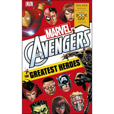 Marvel Avengers The Greatest Heroes World Book Day By Alastair Dougall NEW BRAND