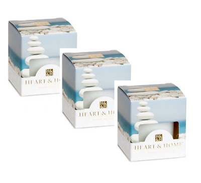 Pack of 3 Heart and Home Simply Spa Scented Votive Candles