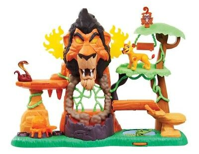 Disney Juniors The Rise of Scar Lion Guard Play Set Brand new boxed