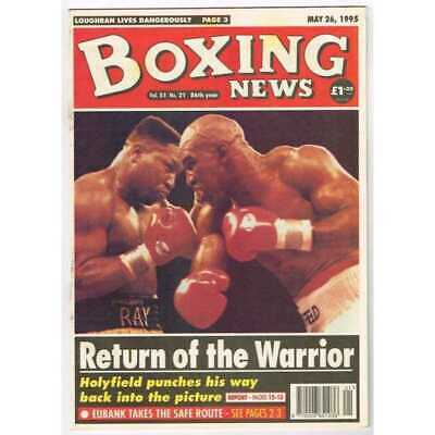 Boxing News Magazine May 26 1995 Mbox3100/C  Vol 51 No.21  Return of the Warrior