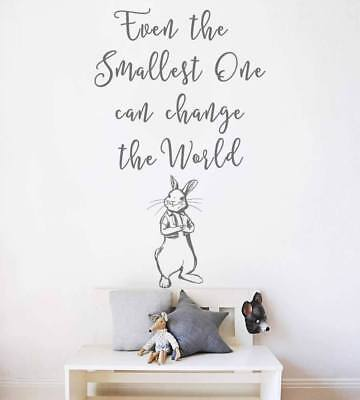 Even The Smallest Ones Peter Rabbit Wall Sticker