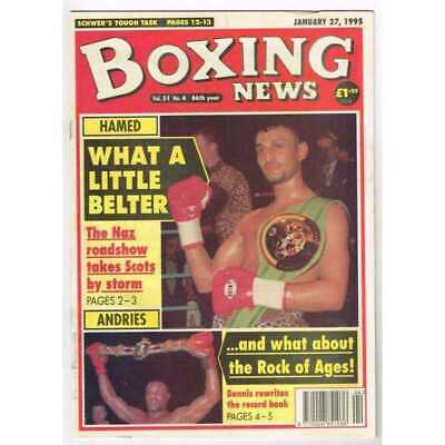 Boxing News Magazine January 27 1995 Mbox3100/C  Vol 51 No. 4  Hamed What a litt