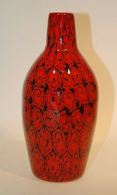 Vetro di Murano glass firmato Bottle murrina bottiglia signed Vittorio Ferro
