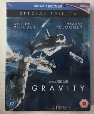 Gravity Special Edition (2xBlu-ray) DOLBY ATMOS Sandra Bullock, George Clooney