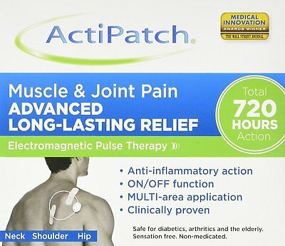 ActiPatch Muscle & Joint Pain Relief Advanced Long-Lasting 720 h Action