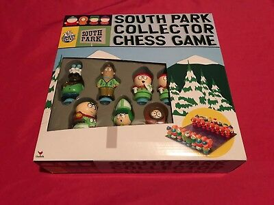 2004 Comedy Central South Park Collector Chess Game Set Brand New