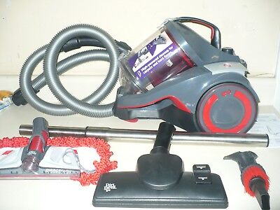 Dirt Devil DASH Multi Carpet & Hard Floor Cyclonic Canister Vacuum, SD40050B