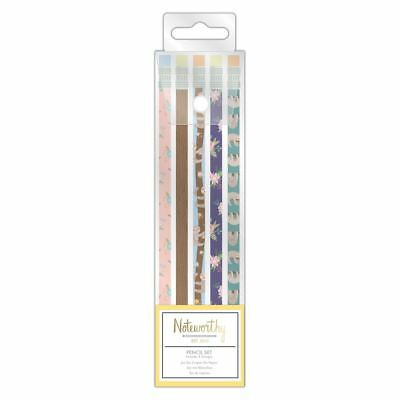 Noteworthy - It's a Sloth's Life Stationery Collection - Pencil Set (5pcs)