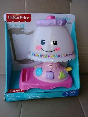 NEW ~ Fisher Price Laugh U0026 Learn My Pretty Learning Lamp. Lamp Only.