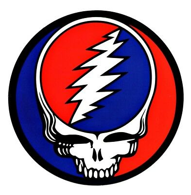 Grateful Dead SYF Sticker Decal Jerry Garcia Hippie Biker Rock n Roll Marijuana