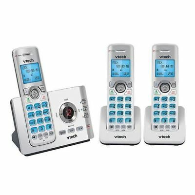 NEW Vtech Triple DECT 6.0 Cordless Phone 3 PHONES FOR OFFICE HOME INTERCOM