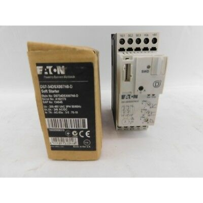 Eaton DS7-34DSX007N0-D Soft Starter 3Ph, 24V, 200-480VAC