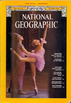 national geographic-JAN 1978-MOSCOW.