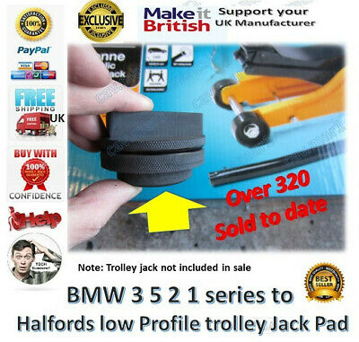 4 X Axle Stand Underseal Rubber Protection Pads Classic Car Jack Halfords Jcb Eur 20 32