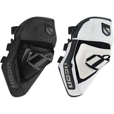 2018 Icon Cloverleaf Knee Protection D30 Motorcycle Knee Guard - Pick Size