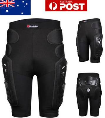 AU! Unisex Skiing Snowboard Motorcycle Racing Protection Hip Gear Shorts Pants