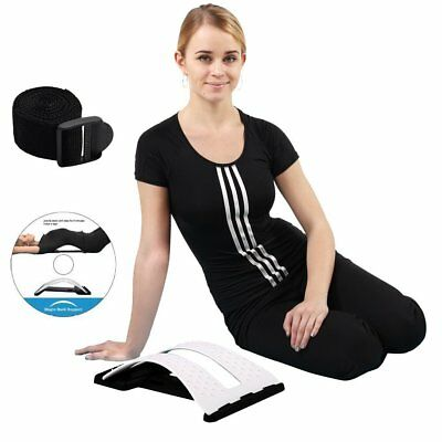 Magic Back Stretcher Lumbar Support Device Posture Corrector For Upper and Lower