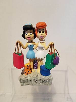 Warner Bros Ornament 2000 - Flintstones - Betty and Wilma Born to Shop