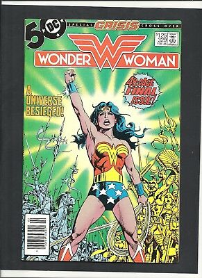 WONDER WOMAN #329 Last issue LOW PRINT RUN! 1985 DC Comics