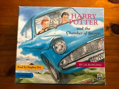 (NEW) Harry Potter and The Chamber of Secrets - Read By Stephen Fry CD