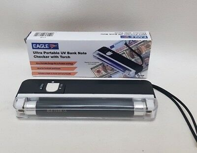 UV BANK NOTE CHECKER With Torch Money Cash Checking Portable Festival Events