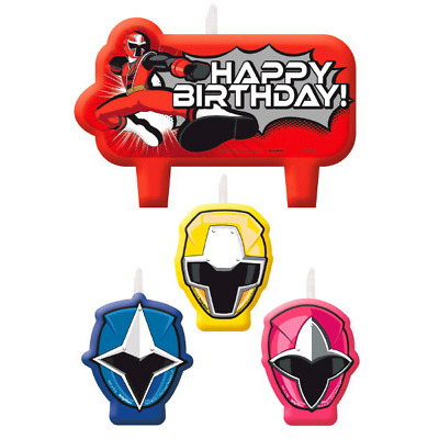 Power Rangers Ninja Steel Candles (4)