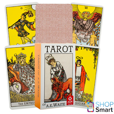 Ae Waite Tarot Standard Deck Cards Premium Edition Fortune Telling Agm New