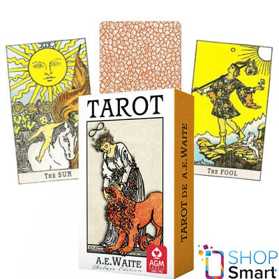 Ae Waite Tarot Deluxe Deck Cards Premium Edition Fortune Telling Agm New