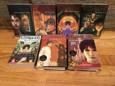 Mixed Lot Of 7 Pendragon DJ MacHale Fantasy Series #1-7 In Sequence Young Adult
