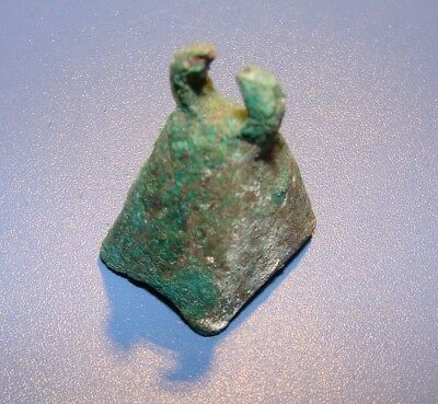 Ancient Bell. Slavs  7 - 9 Century. Bronze Pattin. Original.