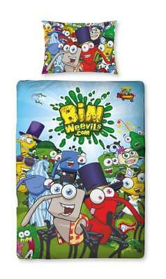 Bin Weevils - Mulch Single Panel Duvet Set | Brand New | Free Delivery