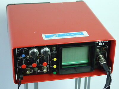 SOFRANEL Portée ultrasonique analogue flaw detector weld inspection oscillator