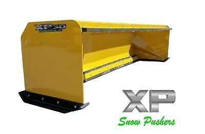 10' snow pusher boxes with pullback bar skid steer bobcat LOCAL PICK UP ONLY