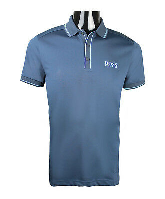 94c218b92 Hugo Boss Men's Paddy Pro 5 50382192 Polo Golf Shirt s m l xl 2xl 3xl Navy