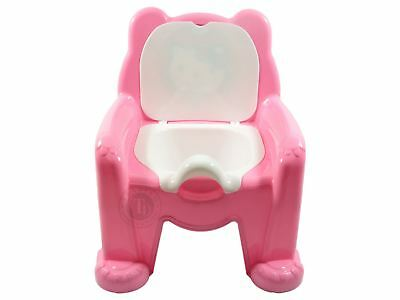 Pink Kids Potty Chair Seat Baby Toddler Training Children Removable Toilet Seat