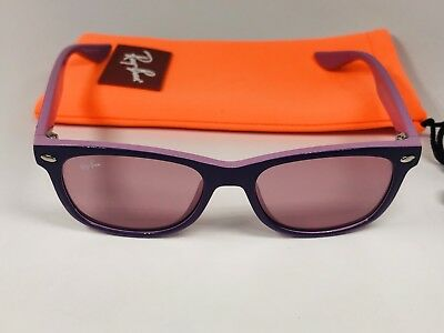 New Ray-Ban Junior RJ9052S 179/84 Lavender & Pink KIDS Sunglasses 47mm w/Case