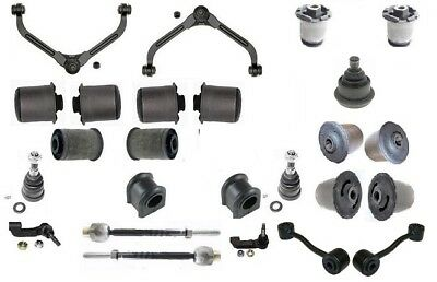 STEERING /& SUSPENSION KIT2XUPPER ARM LINK JOINT BUSH ROD FOR JEEP CHEROKEE 02-07