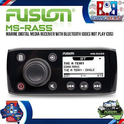 Fusion MS-RA55 50 Series AM FM iPod Bluetooth Receiver Short Chasis Warranty